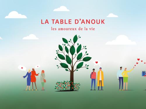Repas/Précarité - La Table d'Anouk, les amoureux de la vie