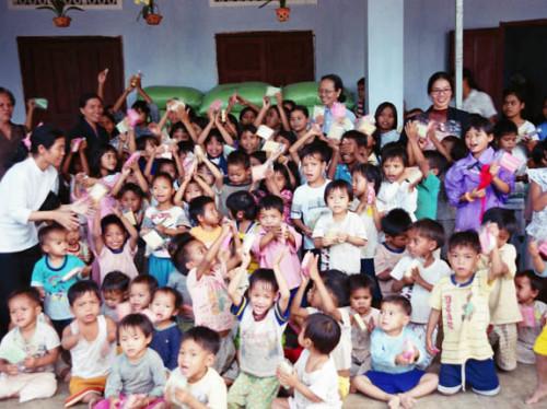 Soutenez notre engagement pour les orphelins de Ky Quang Pagoda, Hô Chi Minh City, Vietnam