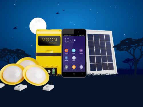 Moon, un kit solaire connecté et innovant