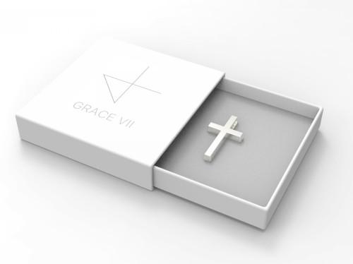 Croix en Argent pur