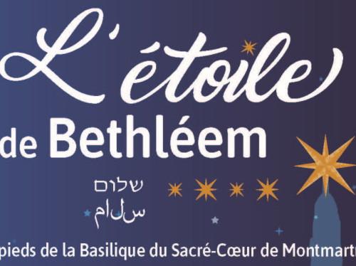 Un spectacle et un marché de Noël aux pieds du Sacré Cœur à Montmartre