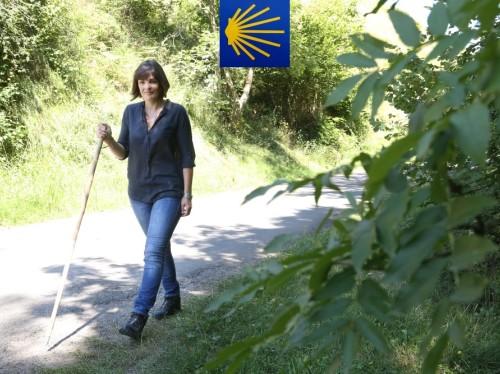 Anne Etchegoyen, à pied et en musique vers Compostelle !