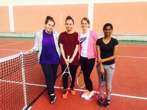 Tennis féminin au sein des quartiers prioritaires - CLUB DE TENNIS DE LA ROSE DES VENTS