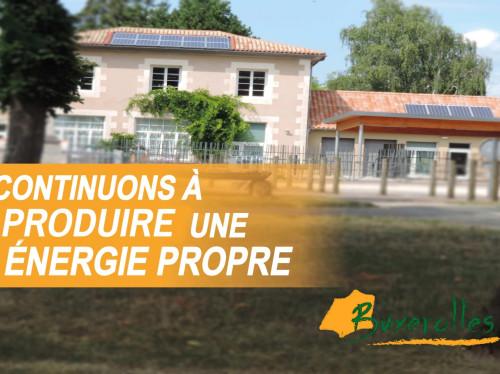 Des panneaux photovoltaïques pour notre école!