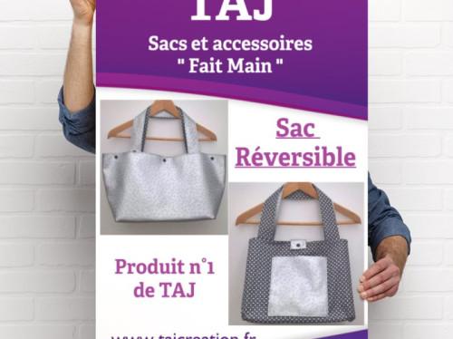 TAJ , petite entreprise de confection de sac à main et accessoires en simili cuir