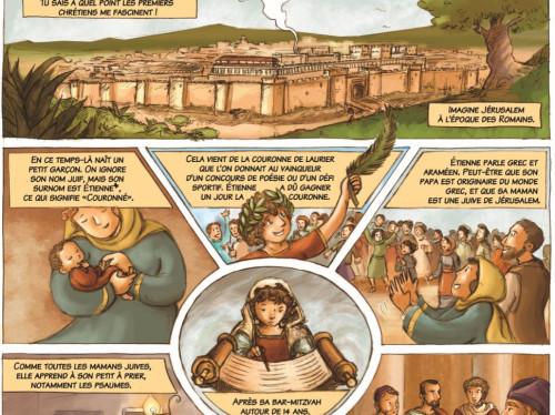 PREVENTE : La vie de saint Etienne en BD !!