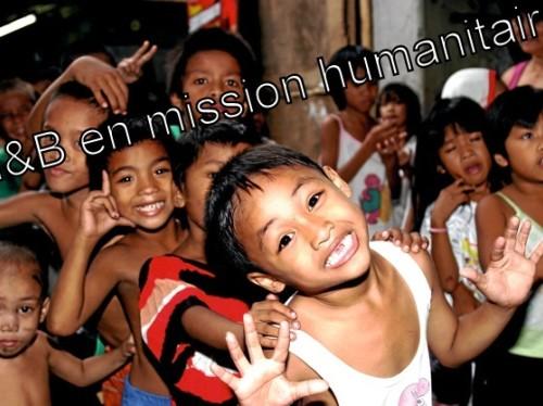 Projet humanitaire : Aidez-nous à redonner le sourire aux enfants des rues de Manille