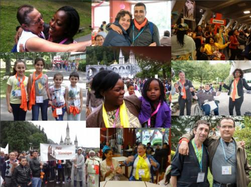 """Pèlerinage Mosaïque : """"Pèlerin en situation de précarité """" à Lourdes du 11 au 16 août 2016"""