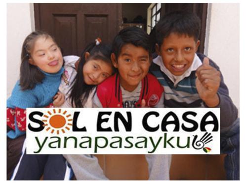 Un p'tit coup de pouce pour les enfants handicapés de Sucre en Bolivie.