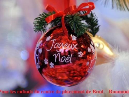 Un Joyeux Noël pour les enfants roumains du centre de placement de Brad