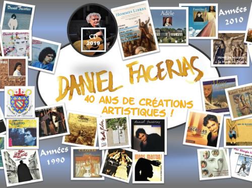 Le nouvel album de Daniel Facérias