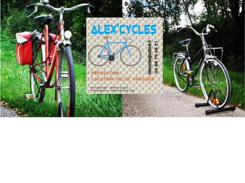 Alex'cycles et ses vélos vintages
