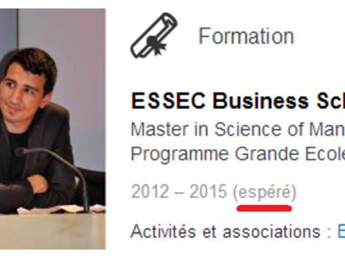 [Yassine] Master 2 Grande École ESSEC Business School