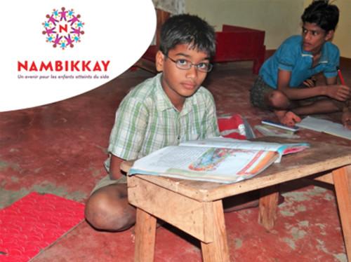 L'éducation de 56 enfants séropositifs