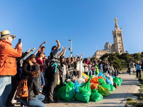 Sensibilisation à l'environnement dans les écoles - 1 déchet par jour
