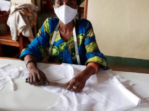 Finançons la production de masques pour l'Afrique !