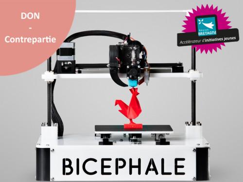 Bicephale, les imprimantes 3D Rennaises