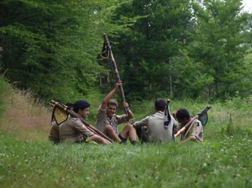 Un camp scout au Canada