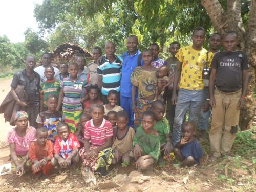 Actes de naissance pour les enfants de Boganda (Afrique)
