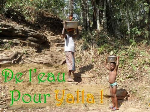 De l'eau pour Yalla !