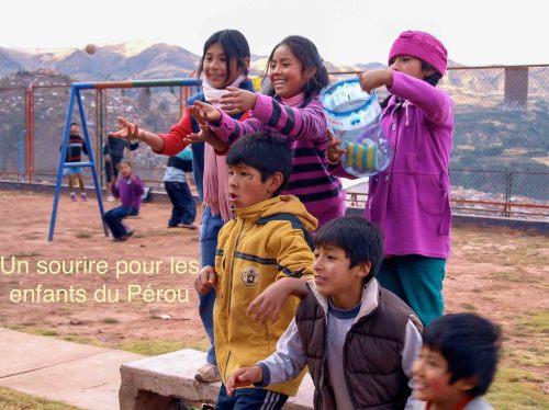 Un sourire pour les enfants du Pérou