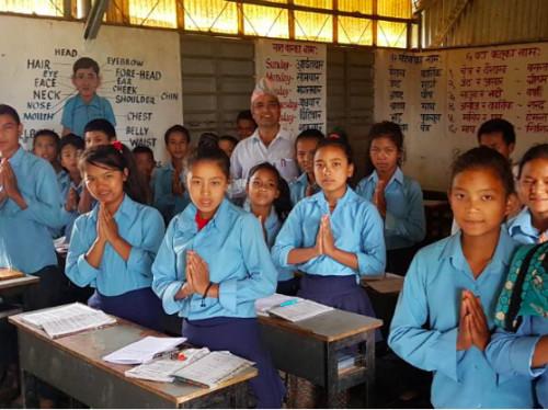 Pour un sourire Népalais