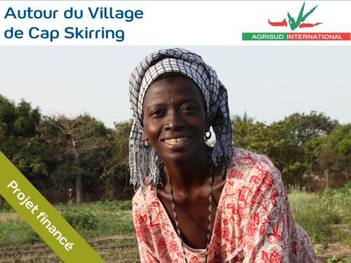 Accompagnement de maraîchères à Cap Skirring au Sénégal - 4 pompes à eau