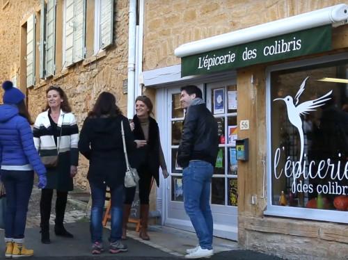 Un coup de pouce pour l'épicerie des colibris, épicerie de village bio, joyeuse et créative