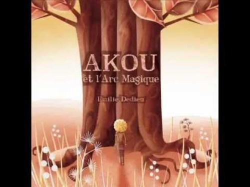 Akou et l'arc magique - album pour enfant