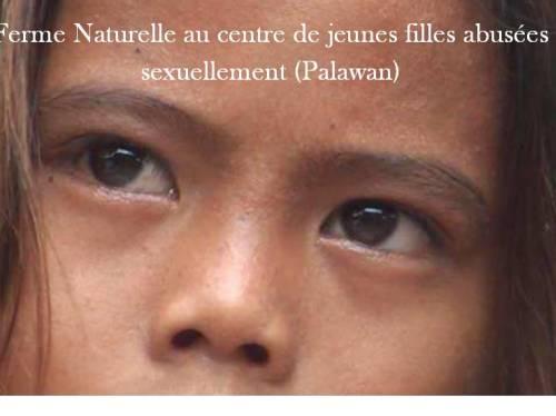Ferme naturelle au centre de jeunes filles abusées à Palawan (Philippines)