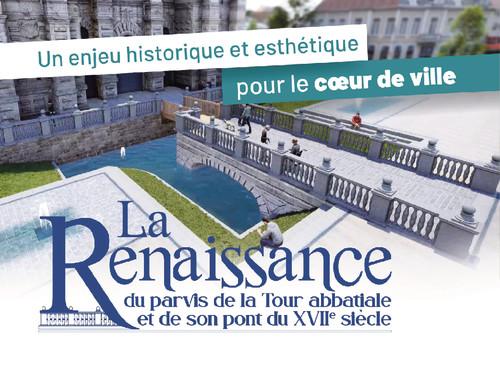 La Renaissance du parvis de la Tour Abbatiale