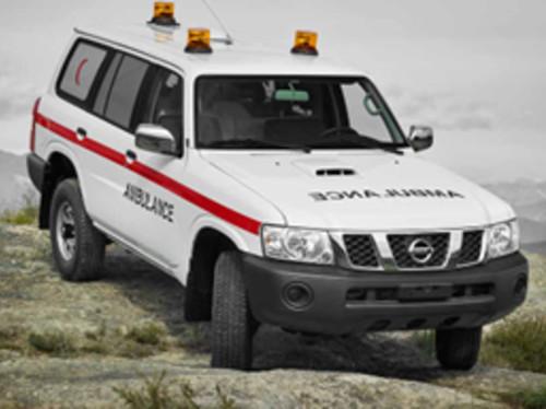 Une ambulance pour l'hôpital Sainte-Anne à Madagascar