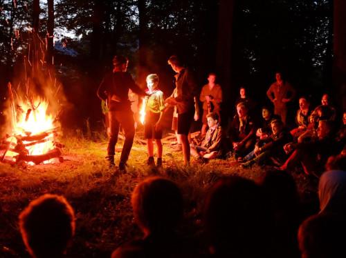 Camp scout en Ecosse