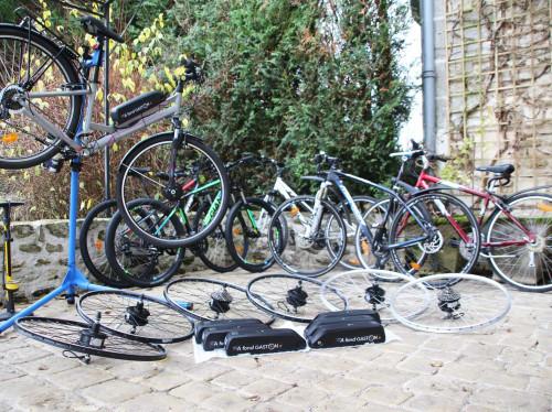 A Fond Gaston - Conversion de vélo en vélo électrique