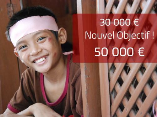 Maison d'accueil pour les enfants des rues de Manille - ANAK-Tnk, avec le Père Matthieu DAUCHEZ - Nouvel objectif à 50.000 euros