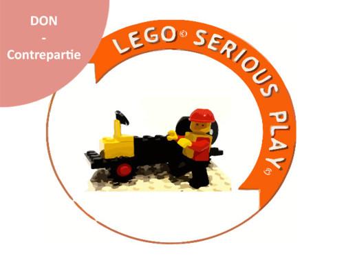 Des briques pour résoudre des problèmes avec LEGO® SERIOUS PLAY®
