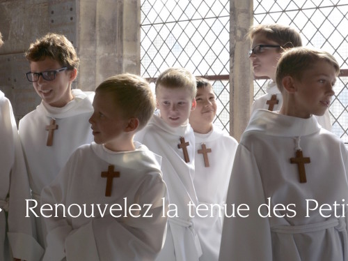 Renouvelez la tenue des Petits Chanteurs à la Croix de Bois !