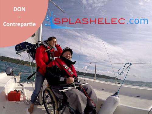 Splashelec - La voile vraiment accessible à tous