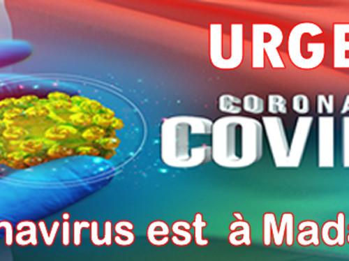 Aide d'urgence Coronavirus à Madagascar
