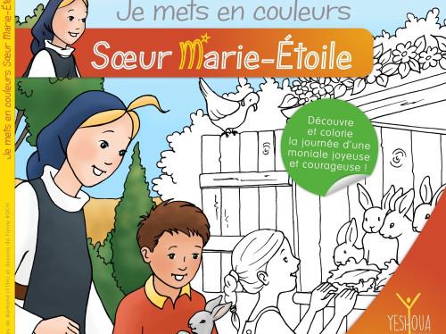 Sœur Marie-Étoile : l'album à colorier pour découvrir la vie monastique vise les 200% !