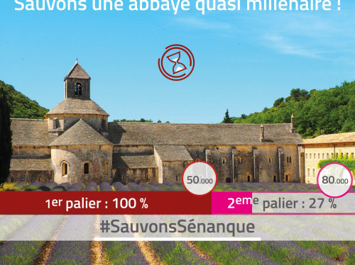 Sénanque, jeopardized abbey