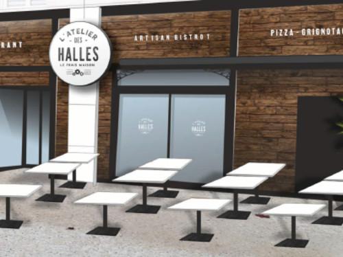 Ouverture d'un restaurant: L'Atelier des Halles