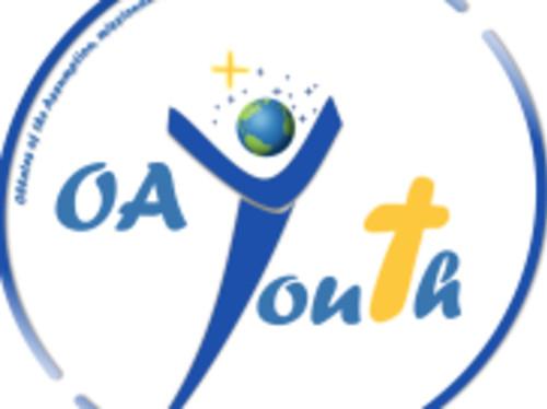 Les Soeurs Oblates et les jeunes d'Europe à Lourdes