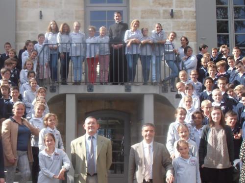De nouvelles classes pour le Collège Saint-Fort en 2019, une salle polyvalente et une chapelle.