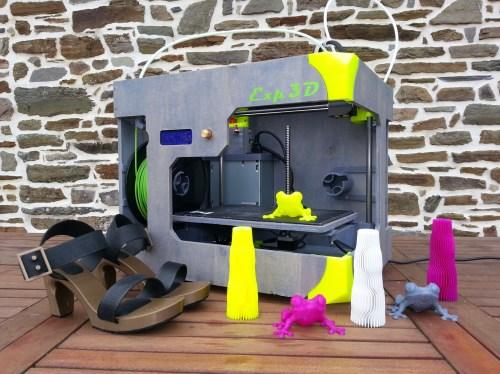 Imprimante 3D multifonction