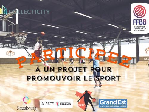 Promouvoir le sport (Basket Center/Bas-Rhin)