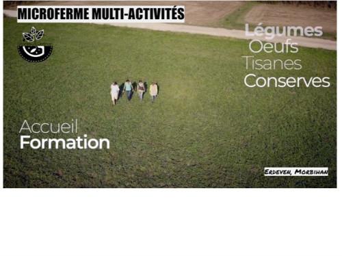 Participez à la création d'une micro-ferme multi-activités !