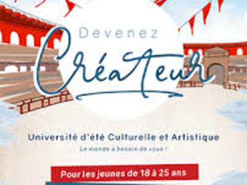 """""""Devenez Créateur"""", 1ère université d'été de l'ICES, en association avec le Puy du Fou"""