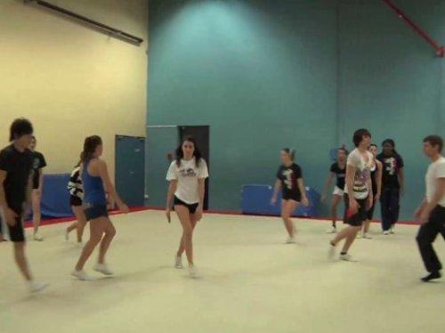 Une équipe de Cheerleaders part aux worlds