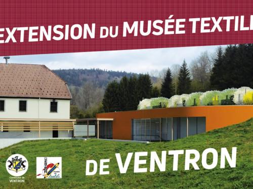 Extension du musée du textile de Ventron -Vosges-